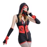 Японские костюмы - Костюм черно-красной ниндзя