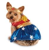 Костюмы для собак - Костюм Чудо-женщины для собаки