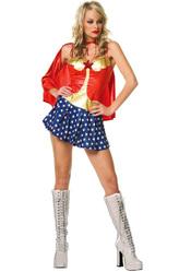 Супергерои - Костюм Чудо-женщины в плаще