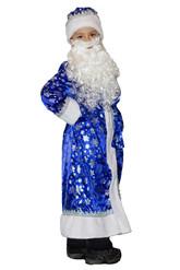 Дед Мороз - Костюм Дед Мороза синий