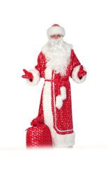 Дед Мороз - Костюм деда Мороза плюшевый