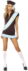 Американские костюмы - Костюм девочки-скаута