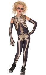 Страшные - Костюм девочки скелета