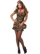 Военные и Милитари - Костюм девушки рядового