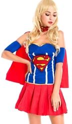 Супермен - Костюм Девушки Супермена