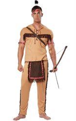 Исторические - Костюм для мужчин Храбрый индеец