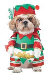 Костюмы для собак - Костюм для собак Рождественский Эльф