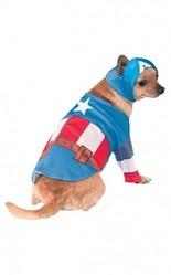 Костюмы для собак - Костюм для собаки Капитан Америка