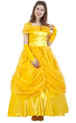 Королевы и Принцессы - Костюм для взрослых Белль