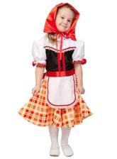 Красные шапочки - Костюм Доброй Красной Шапочки