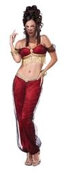 Восточные танцовщицы - Костюм Джина в красном