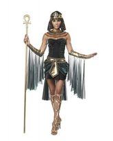 Боги - Костюм египетской богини в черном