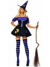 Колдуны и колдуньи - Костюм фиолетовой ведьмочки
