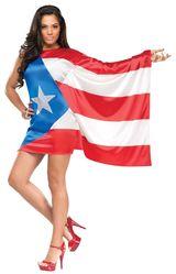 Американские костюмы - Костюм Флаг Пуэрто-Рико