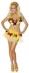 Овощи и фрукты - Костюм фруктовой девочки