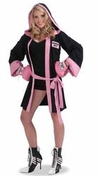 Спортсменки и Судьи - Костюм гламурной боксерши