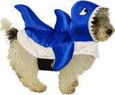 Костюмы для собак - Костюм голубой акулы для собаки