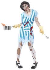 Скелеты и Зомби - Костюм готовящей зомби