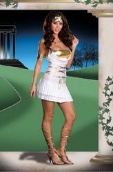 Греческие костюмы - Костюм гречанки с золотым топом