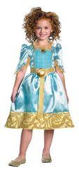 Принцессы и принцы - Костюм храброй Мериды