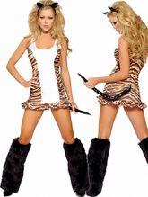 Животные и Звери - Костюм игривой тигрицы