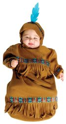 Национальные - Костюм индейского ребенка