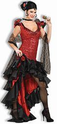 Спортсменки и Судьи - Костюм испанской танцовщицы фламенко