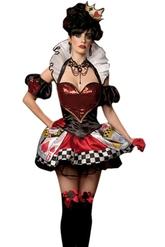 Красная королева - Костюм Карточной королевы из сказки