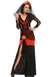 Женские костюмы - Костюм Катрины на День Мертвых