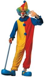 Клоуны - Костюм клоуна желто-красный