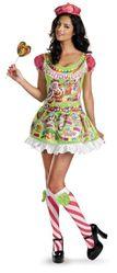 Смешные и Веселые - Костюм конфетной девочки