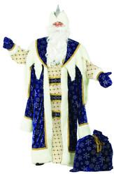 Дед Мороз - Костюм Королевского Деда Мороза синий
