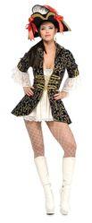 Пиратки - Костюм королевы пиратов