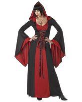 Вампиры и Дракулы - Костюм красно-черной вампирши