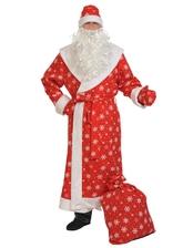 Дед Мороз - Костюм Красного Дедушки Мороза