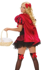 Красные шапочки - Костюм красной шапочки красотки