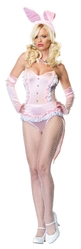 Животные и Звери - Костюм кролика Playboy розовый