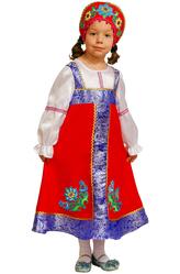 Русские народные - Костюм Юная русская красавица