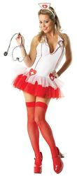 Медсестры - Костюм медсестры с пышной юбочкой