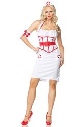 Медсестры - Костюм Медсестры в длинном платье