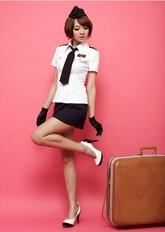 Стюардессы и Капитаны - Костюм милой стюардессы