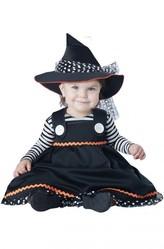 Страшные - Костюм милой ведьмочки для малышей