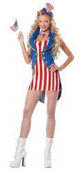 Американские костюмы - Костюм Мисс Независимость Америки