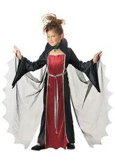 Страшные - Костюм начинающей вампирши детский