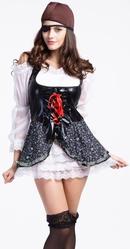 Женские костюмы - Костюм ненаглядной пиратки