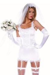 Невесты - Костюм невесты с фатой