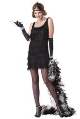 Ретро-костюмы 20-х годов - Костюм обаятельной Хлопушки черный