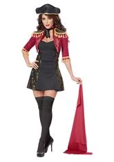 Женские костюмы - Костюм очаровательного матадора