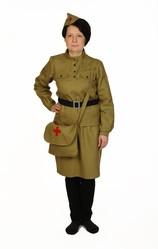 Военные и Милитари - Костюм отважной военной медсестры