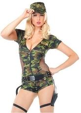 Военные и Милитари - Костюм отважной военной